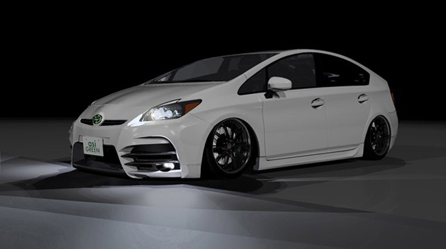 Sports Car Wallpapers High Resolution Asi Green Prius Final Design