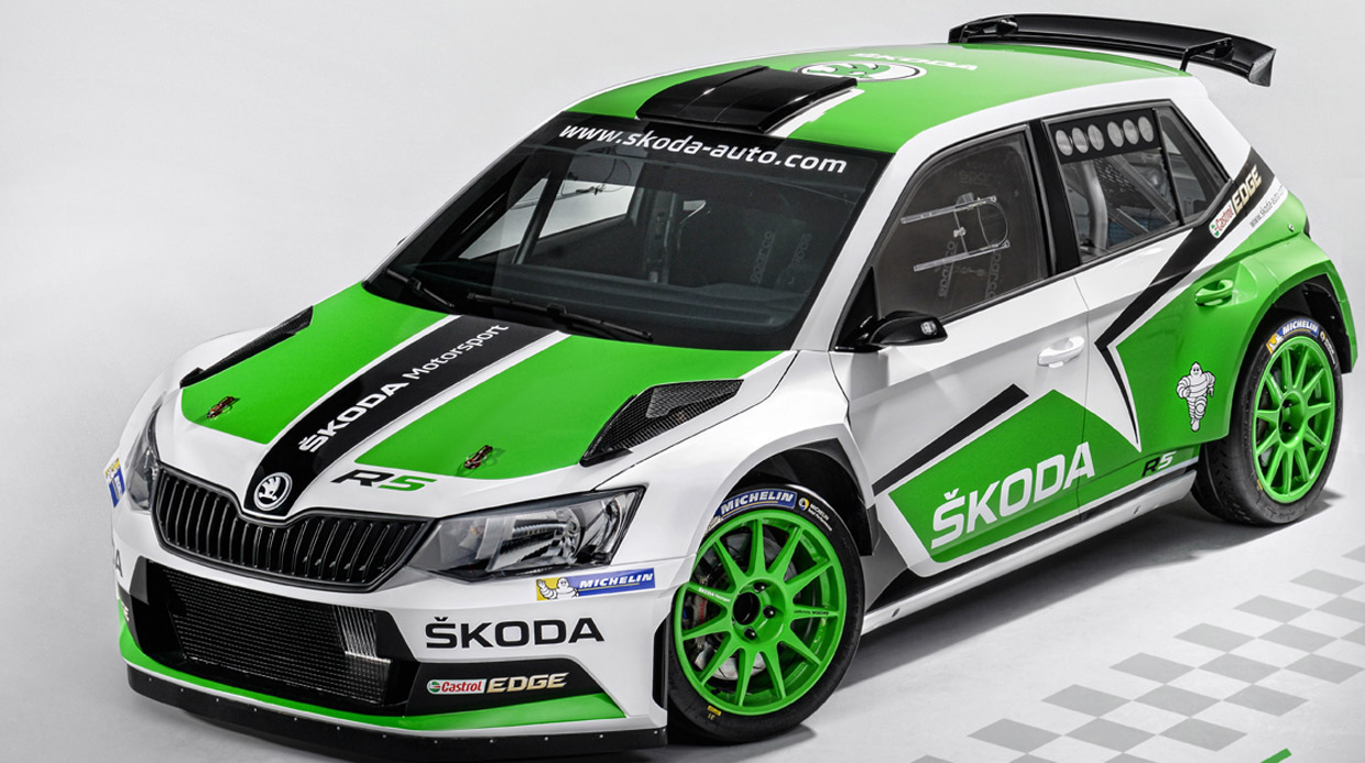 Monster Rally Car Wallpaper Skoda Fabia R5 Is Ready For The Road