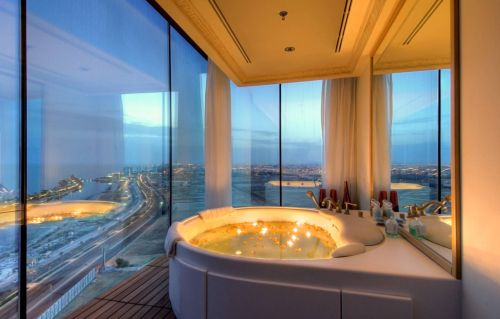 Oceanview Three Bedroom Pool Villa u2014 The adjoining bathroom is a