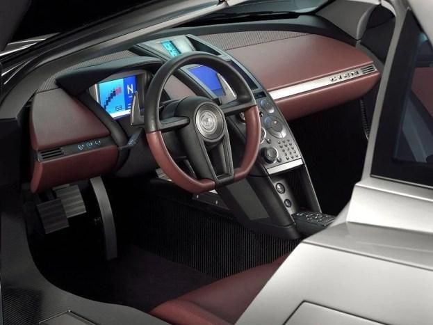 Cadillac Cien interior