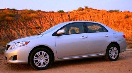 2009 Toyota Corolla XLE side