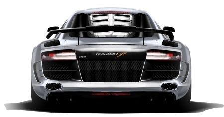 Audi R8 PPI Razor GTR rear