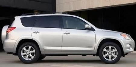 2009 Toyota RAV4 side