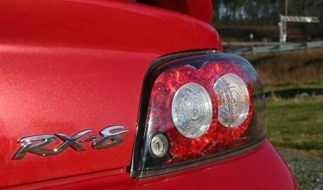 2010 Mazda RX-8 R3 tail