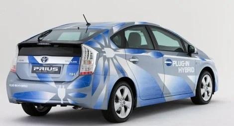 2010 Toyota Prius Plugin rear