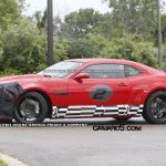 2012 Chevrolet Camaro Z-28 Struts Out in Public