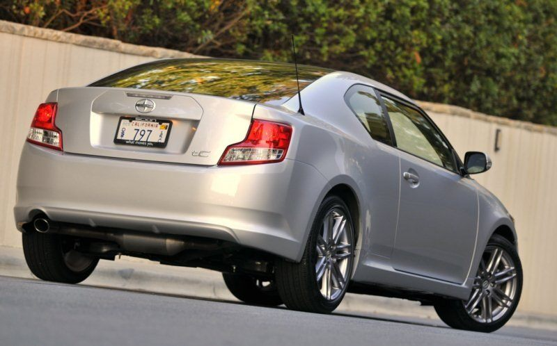 2011 Scion tC rear
