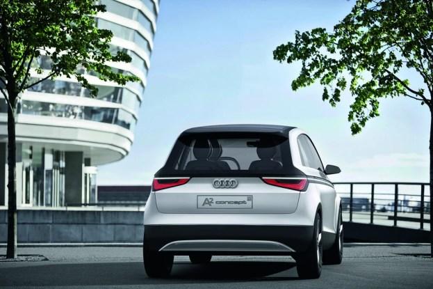 Audi A2 concept/Standaufnahme