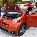 Scion iQ front quarter