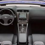 2012 Lexus IS-C interior
