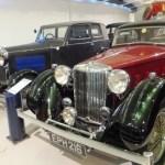 1936 MG SA and 1929 Rover