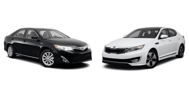 Toyota Camry vs Kia Optima