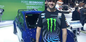 Ken Block and his Ford Focus TrackSTer
