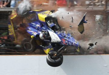 Mike Conway Indy Crash