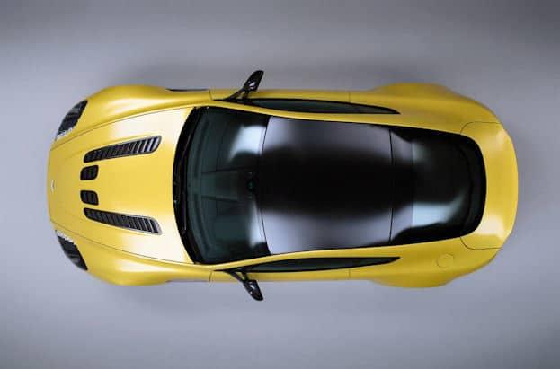 Aston Martin V12 Vantage S top