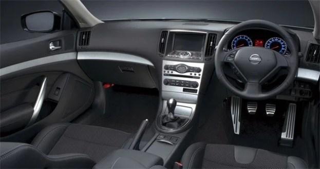 Right Hand Drive Nissan interior