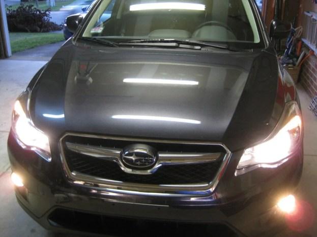 Subaru XV Crosstrek headlights