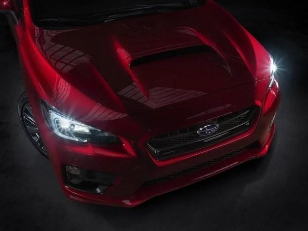 2015 Subaru WRX teaser