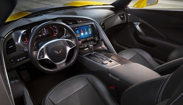 2015 Chevrolet Corvette Z06 interior
