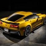 2015 Chevrolet Corvette Z06 rear quarter