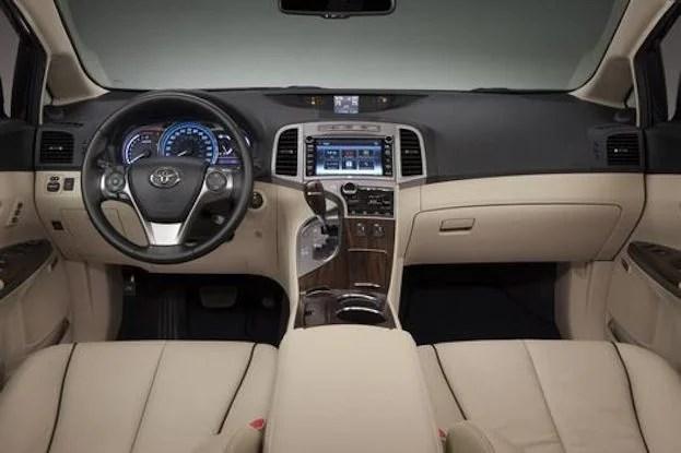 2014 Toyota Venza cabin