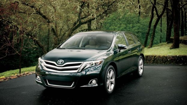 2014 Toyota Venza front