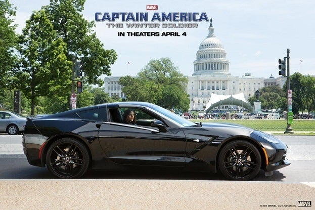Black Widow Chevrolet Corvette Stingray