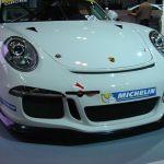 Front Porsche 911 GT3 Cup Race Car