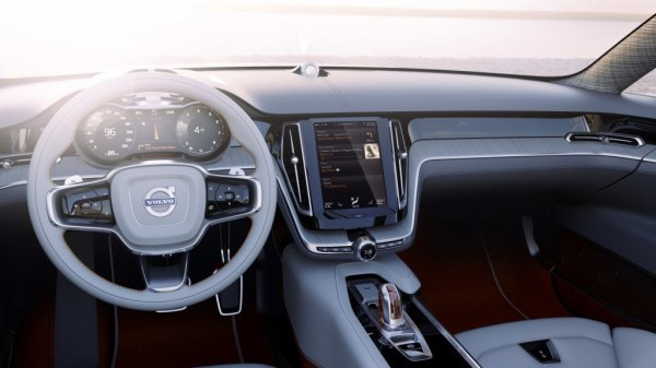 Volvo Concept Estate infotainment