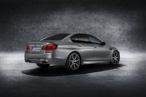BMW M5 30th Anniversary rear