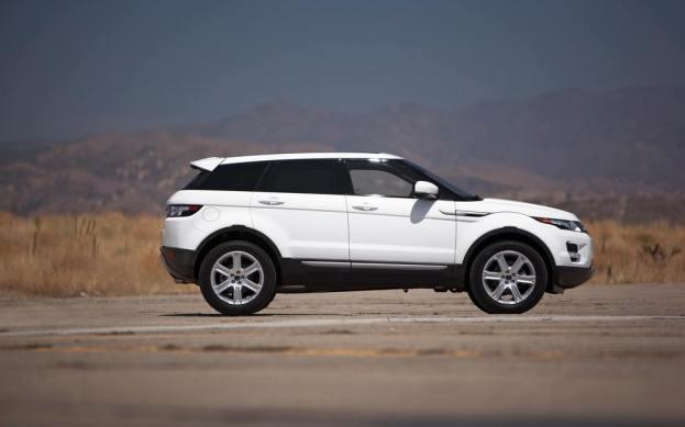 Range Rover Evoque side