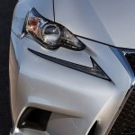 2014 Lexus IS350 F-Sport headlight