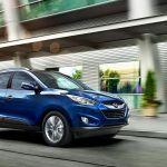 2014 Hyundai Tucson driving