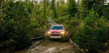 Toyota 4 Runner Mud