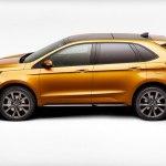 2016 Ford Edge Sport Left Side Profile