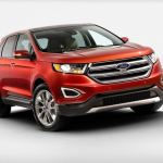 2016 Ford Edge Titanium Front Fascia