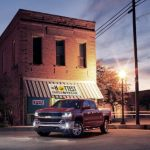 2016-Chevrolet-Silverado-LT-at-Restaurant-005