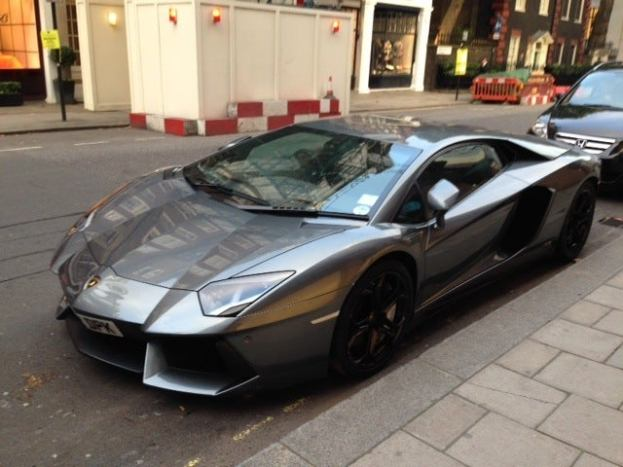 Image of Aventador in London