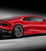 2016 Lamborghini Huracan LP580-2 Right Rear Three Quarters