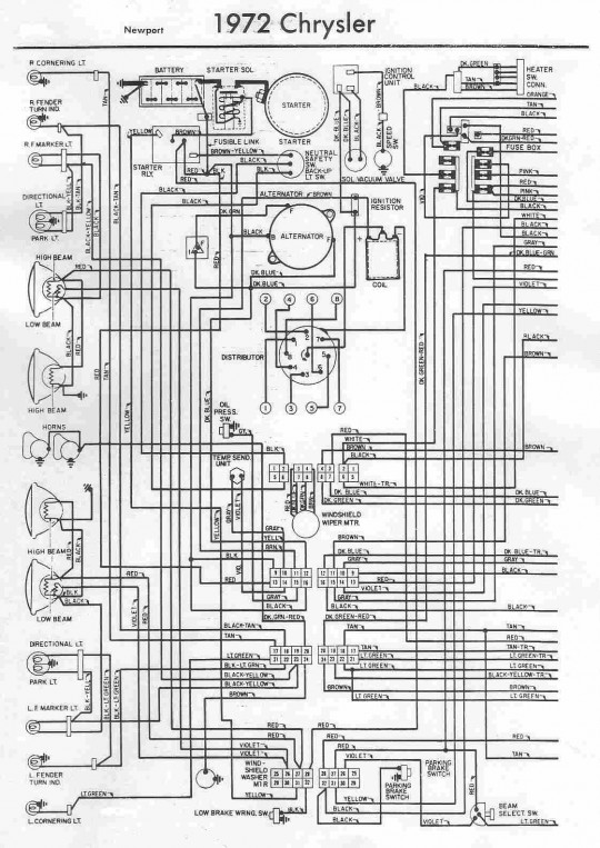1966 Chrysler Newport Wiring Diagram Wiring Diagram