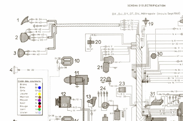 1962 citroen 2cv wiring diagram