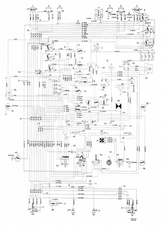 volvo fe truck electrical wiring diagram