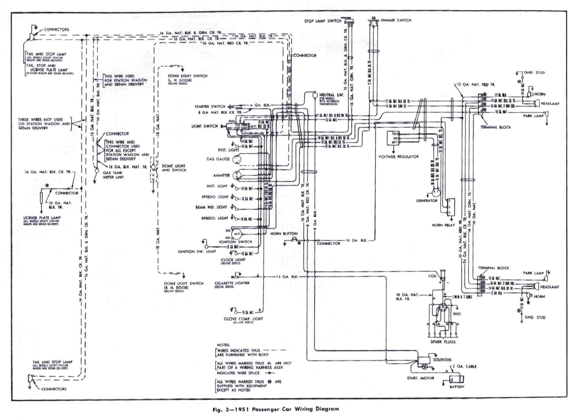 1951 oldsmobile wiring diagram free picture schematic