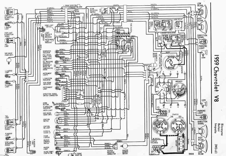 1967 Impala Wiring Diagram Wiring Diagram
