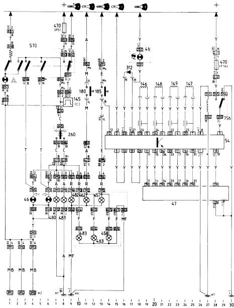 citroen bx electrical wiring diagram