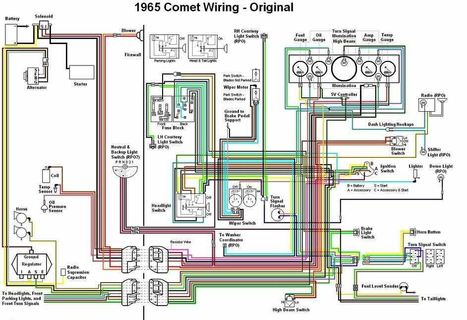 66 Thunderbird Alternator Wiring Diagram Schematic Diagram
