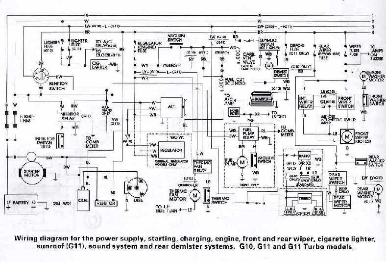 car wiring diagrams vehicles