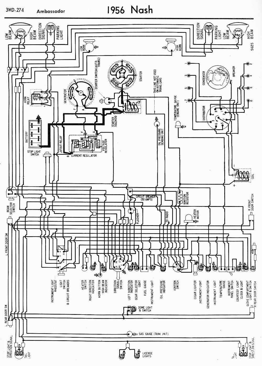 1950 oldsmobile 98 wiring diagrams
