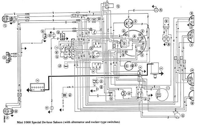 mini 1000 wiring diagrams