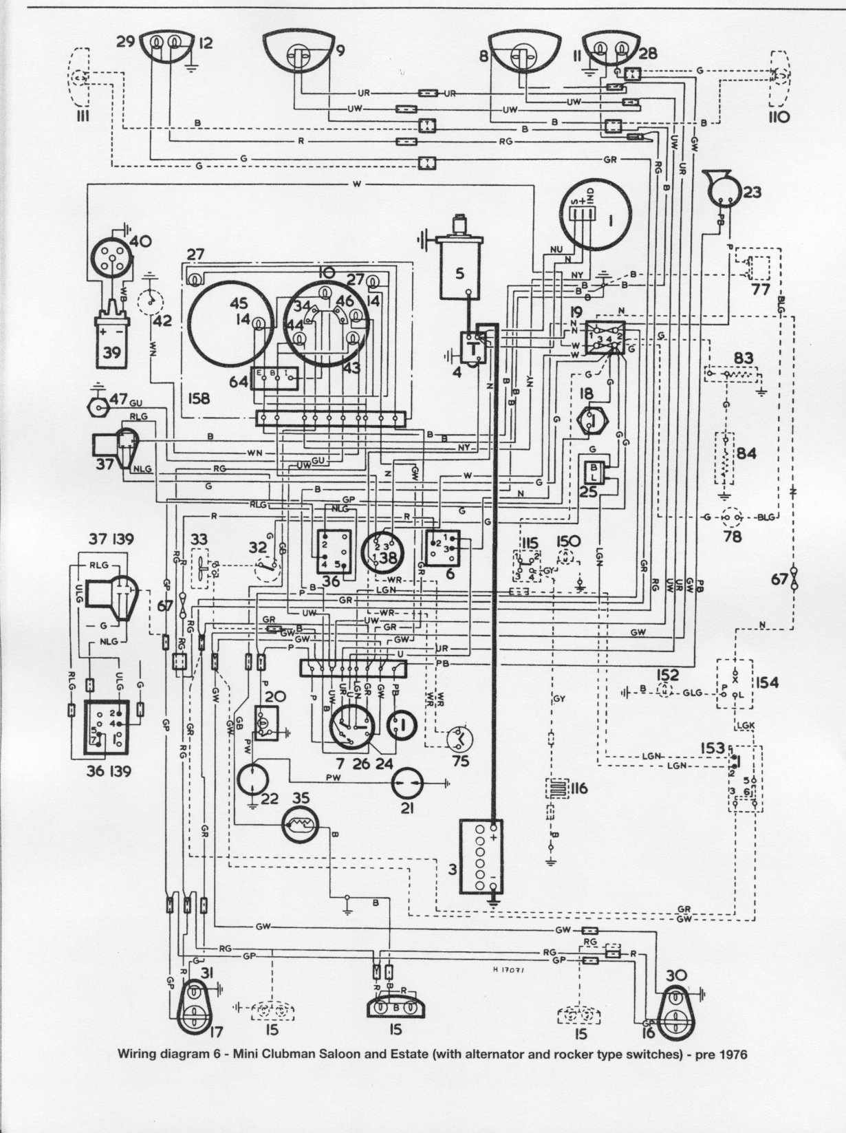 mini wiring diagrams